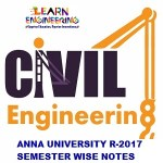 Civil Engineering R-2017 Semester wise Notes Collection