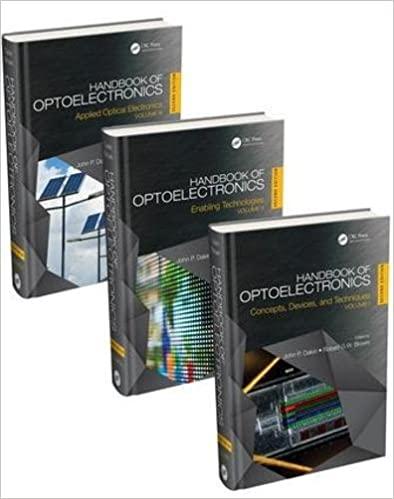 Handbook of Optoelectronics 2nd Edition By John P. Dakin