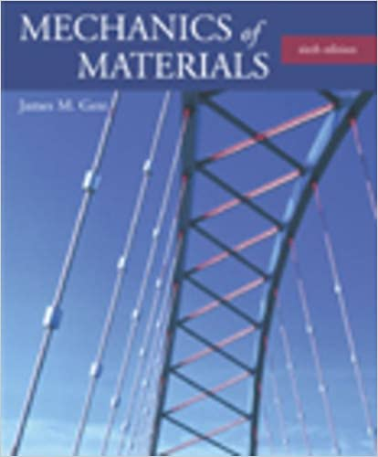 Mechanics of Materials 6th Edition By James M. Gere