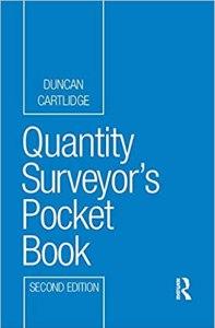 Quantity Surveyor's Pocket Book By Duncan Cartlidge