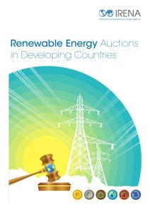 Renewable Energy Auctions A Guide to Design By Rabia Ferroukhi