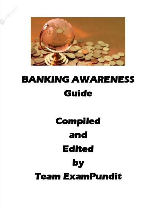 Banking Awareness Guide By Team Exam pundit