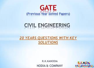 GATE Civil Engineering Previous Year Solved Papers