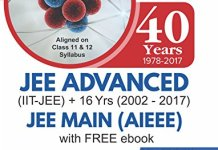40 Years IIT-JEE Advanced + 16 yrs JEE Main Topic-wise Solved Paper Chemistry