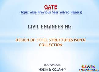 [PDF] R K Kanodia Design of Steel Structures Notes