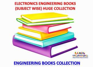 Electronics Engineering Books Huge Collection (Subject wise)