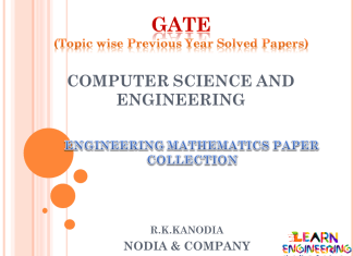 R K Kanodia Engineering Mathematics Notes