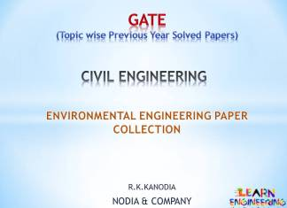 R K Kanodia Environmental Engineering Notes