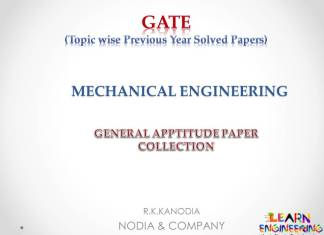 R K Kanodia General Aptitude Notes