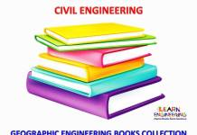 Geographic Engineering Books Collection