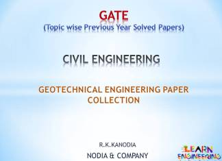 R K Kanodia Geotechnical Engineering Notes