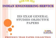 IES General Studies Objective Previous Years Papers Collection