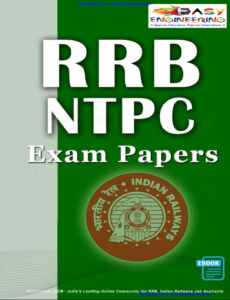 RRB Non Technical (NTPC) Previous Year Exam Papers