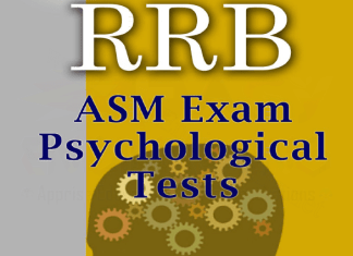 RRB Psychological Tests For Assistant Station Master