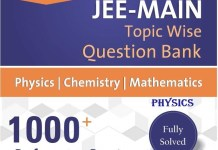 Resonance Rank Booster JEE Main Physics