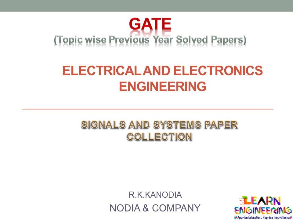 R K Kanodia Analog and Digital Electronics Notes