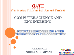 R K Kanodia Software Engineering and Web Technology Notes