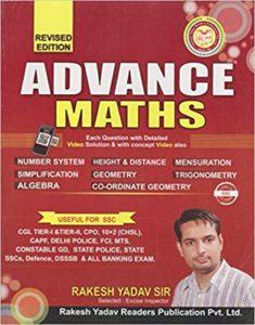 SSC Advance Maths (English) By Rakesh Yadav