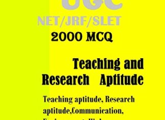UGC NET/SET/BED/SSC/TET Paper I By Narayan Changder