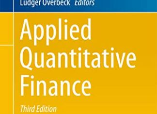 Applied Quantitative Finance By Wolfgang Karl Hardle