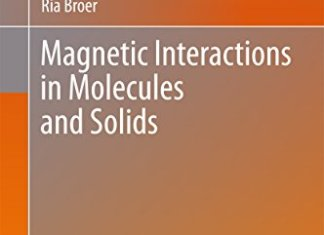 Magnetic Interactions in Molecules and Solids By Coen de Graaf