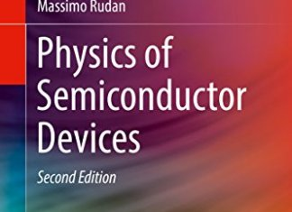Physics of Semiconductor Devices By Massimo Rudan