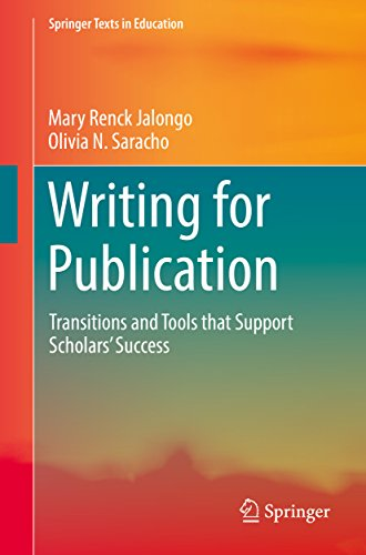 Writing for Publication By Mary Renck Jalongo