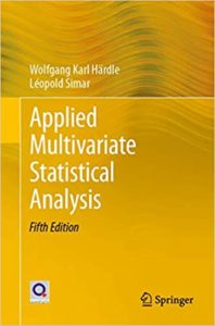 Applied Multivariate Statistical Analysis By Wolfgang Karl Hardle
