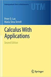 Calculus With Applications By Peter D. Lax