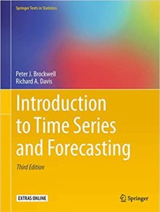 Introduction to Time Series and Forecasting By Peter J. Brockwell