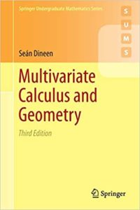 [PDF] Multivariate Calculus and Geometry By Sean Dineen Free Download