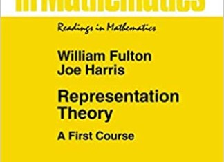 Representation Theory By William Fulton