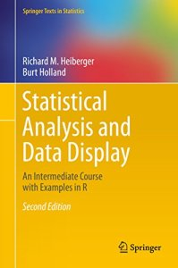 Statistical Analysis and Data Display By Richard M. Heiberger