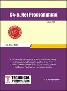 CS8073 C# and .Net Programming