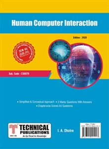 CS8079 Human Computer Interaction