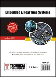 EC8791 Embedded and Real Time Systems
