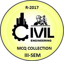 Civil Engineering R2017 Third Semester Subjects MCQ