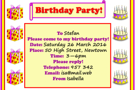 Birthday party description essay 4k pictures 4k pictures full an invitation to a party learnenglish teens british council essay birthday party amvets hero essay essay on birthday party in how to write invitation letter stopboris Gallery