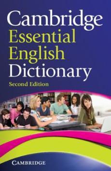 blue Cambridge Essential English Dictionary