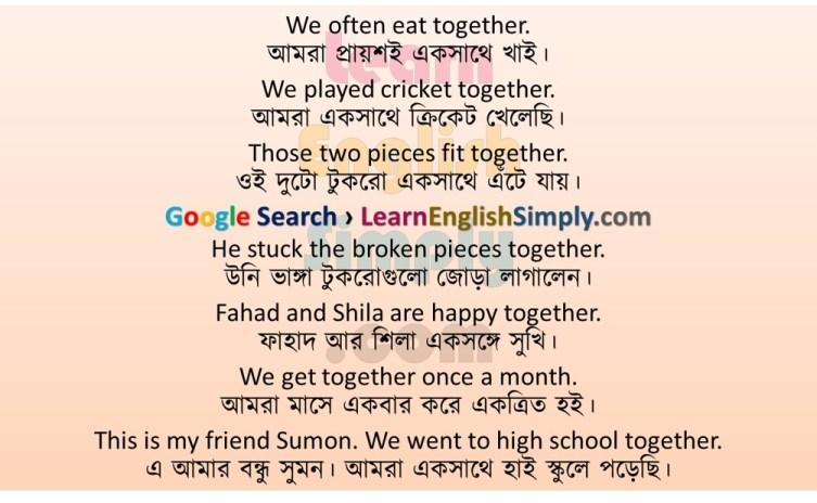 Sentence Making Together