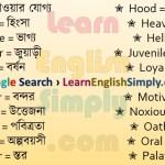 Vocabulary Part 42 f