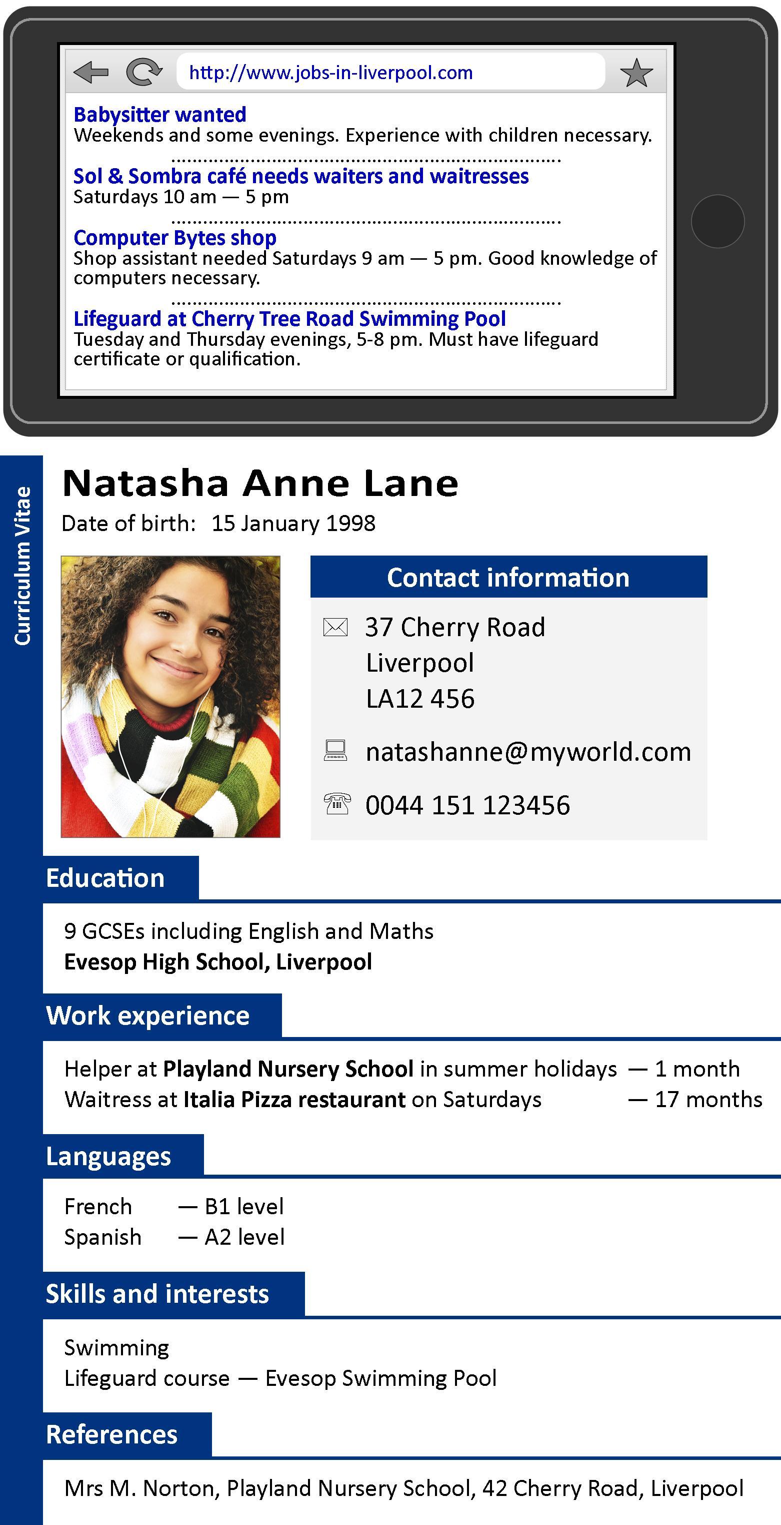 A CV | LearnEnglish Teens | British Council