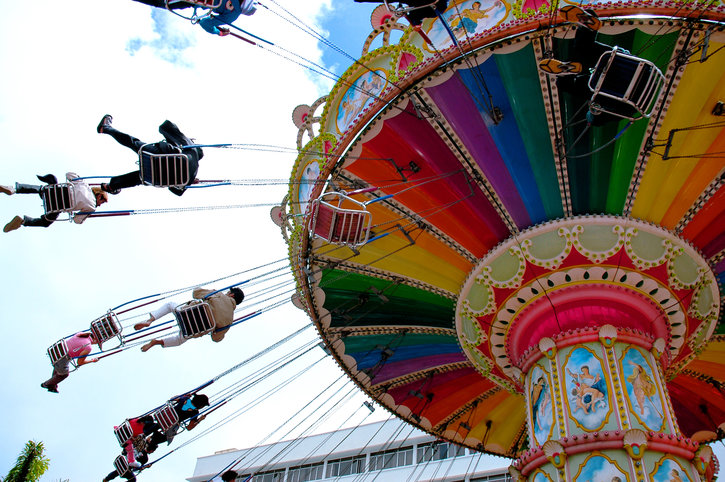 Image result for images fanfare big wheel rides amusement park