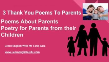 Poems About Parents - Poetry for Parents from their Children