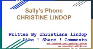 English Story In Urdu & Hindi ~ Sally's Phone by Christiane Lindop