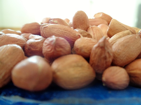 A close-up photo of groundnuts from Africa-Food in Africa