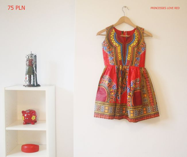 Princesses Love Red: Learn English With Africa (Dresses on sale)