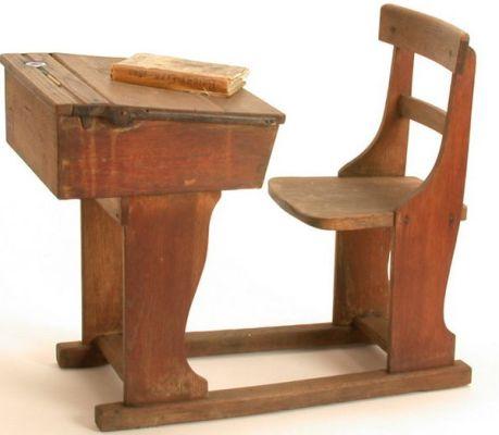The Decision (short story): School Desk