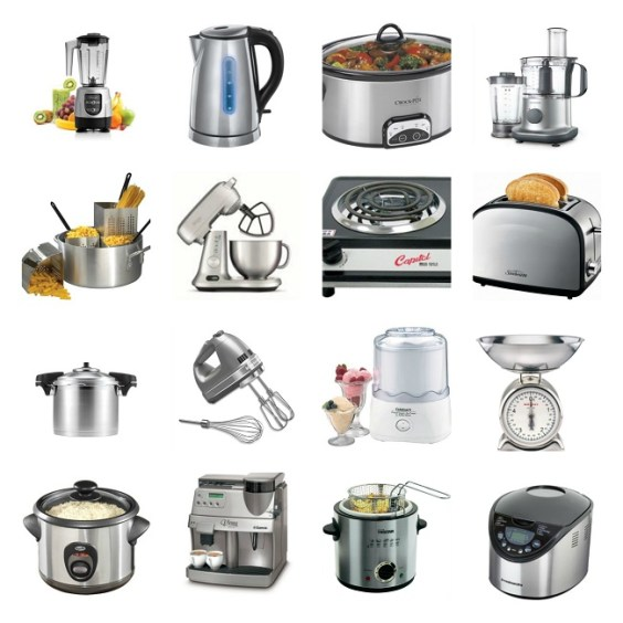 Vocabulary to describe small kitchen appliances and ...