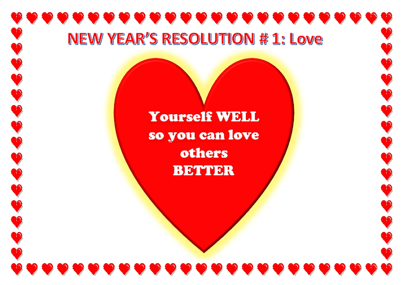 New Year's Resolutions # 1, Love, Learn English With Africa, December 2016-English Workheets